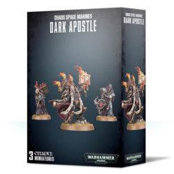 games workshop 43-37 Warhammer 40K Chaos Space Marines Dark Apostle