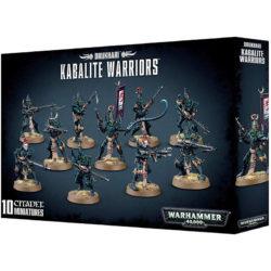 games workshop 45-07 Warhammer 40K Kabalite Warriors