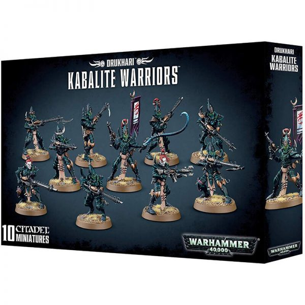 games workshop 45-07 Warhammer 40K Kabalite Warriors