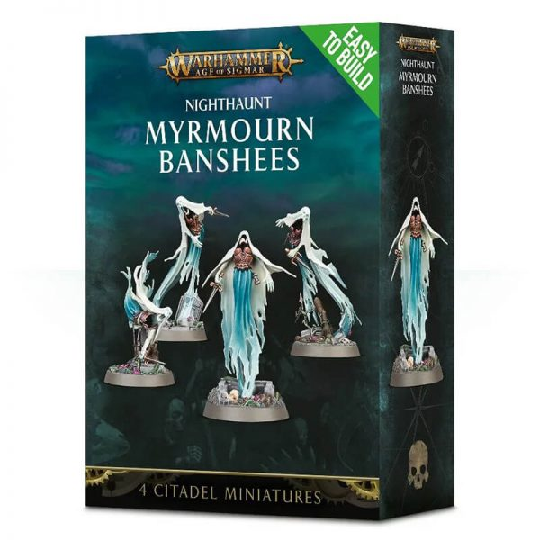 games workshop 71-11Age of Sigmar Nighthaunt Myrmourn Banshees