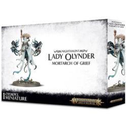games workshop 91-25 warhammer age of sigmar Nighthaunt Lady Olynder, Mortarch of Grief