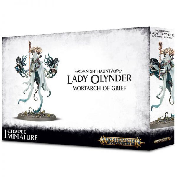 games workshop 91-25 warhammer age of sigmar Nighthaunt Lady Olynder, Mortarch of Grief