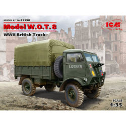 icm models 35590 Model W.O.T. 8, WWII British Truck maqueta escala 1/35