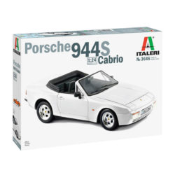 italeri 3646 PORSCHE 944 S Cabrio maqueta escala 1/24
