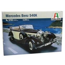 italeri 3701 MERCEDES BENZ 540K maqueta escala 1/24
