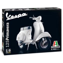 Italeri 4633 Vespa 125 Primavera maqueta escala 1/9