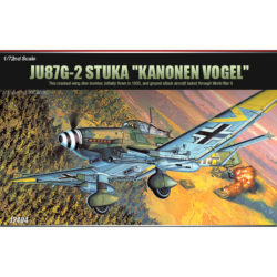 Academy 12404 Ju 87G-2 Stuka Kanonen Vogel maqueta escala 1/72