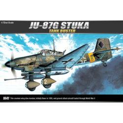 Academy 12450 Junkers Ju 87G-1 Stuka Tank Buster maqueta escala 1/72