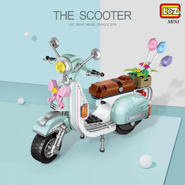 Loz Mini 1117 The Scooter 673 pcs
