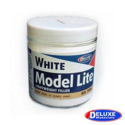 Deluxe DD5 Model Lite White 240ml Masilla de relleno de color blanco y secado rápido. Ideal para alisar y rellenar imperfecciones en la madera. Aplicar con espátula, una vez seca se puede lijar.