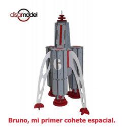 disarmodel 10019 Bruno, mi primer cohete espacial maqueta en madera