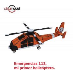disarmode 10021 Emergencias 112, mi primer helicóptero