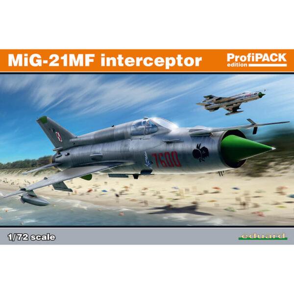 eduard 70141 MiG-21MF interceptor profiPACK maqueta escala 1/72
