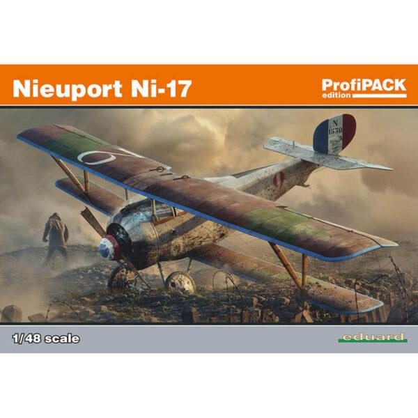 eduard-8071-Nieuport-Ni-17-profipack-maqueta-escala-1-48-kit