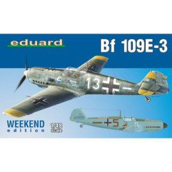 eduard 84157 Messerschmitt Bf 109E-3 Weekend Edition maqueta escala 1/48