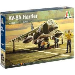 italeri 1410 AV-8A Harrier maqueta escala 1/72