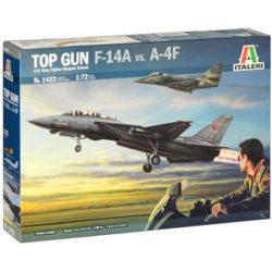 italeri 1422 Top Gun F-14A vs A-4F maqueta escala 1/72