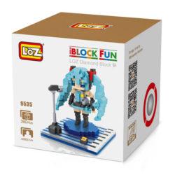 Loz 9447 Hatsune Miku 390pcs Construye y colecciona con los bloques de Loz, tus personajes favoritos. Los Diamond Blocks de Loz son los bloques de construcción mas pequeños del mercado.