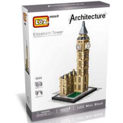 Loz Mini 1004 Torre de Londres 346 pcs Architecture Construye y colecciona con los bloques de Loz, los edificios clásicos.