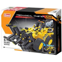 qihui 6804 2 en 1 Maquinaria madera y Buggy 301pcs