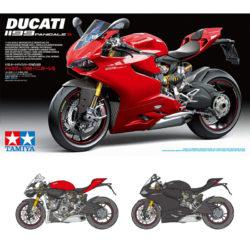 tamiya 14129 Ducati 1199 Panigale S maqueta escala 1/12