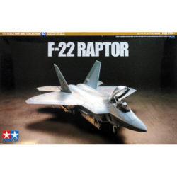 tamiya 60763 USAF F-22 Raptor War Bird Collection maqueta escala 1/72