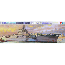 tamiya 77514 U.S. Aircraft Carrier Enterprise maqueta water line escala 1/700