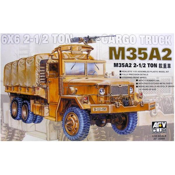 AFV Club af35004 M35A2 2 1/2 ton 6x6 truck maqueta escala 1/35