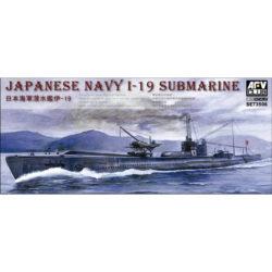 AFV Club se73506 Japanese Navy I-19 Submarine maqueta escala 1/350