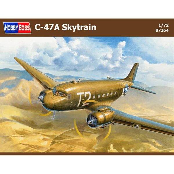 Hobby Boss 87264 C-47A Skytrain maqueta escala 1/72