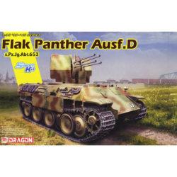 dragon 6899 FLAK PANTHER Ausf.D s.Pz.Jg.Abt.653 maqueta escala 1/35