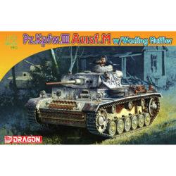 dragon 7290 Pz.Kpfw.III Ausf.M w/Wading Muffler maqueta escala 1/72