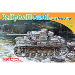 dragon 7385 Pz.Kpfw.III Ausf.L Late Production maqueta escala 1/72