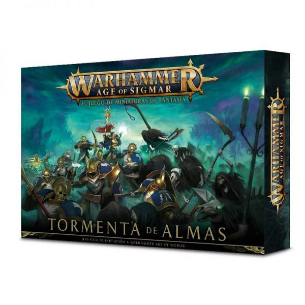 games workshop 80-19-03 warhammer age of sigmar Tormenta de Almas es un set de inicio