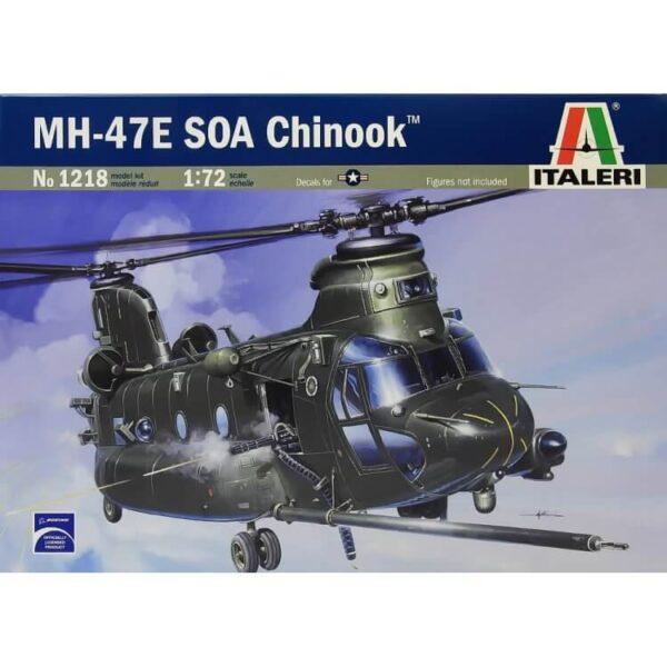 italeri 1218 MH - 47 E SOA CHINOOK maqueta escala 1/72