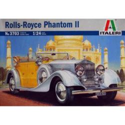 italeri 3703 Rolls-Royce Phantom II 1934 maqueta escala 1/24