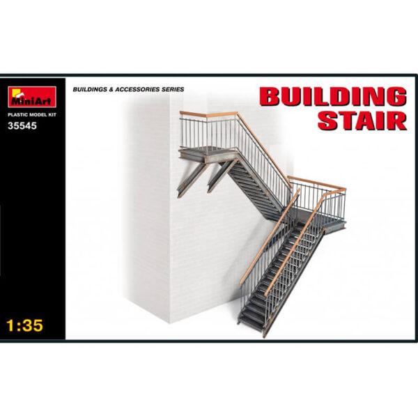 miniart 35545 Building Stair Buildings & Accesories Series kit escala 1/35