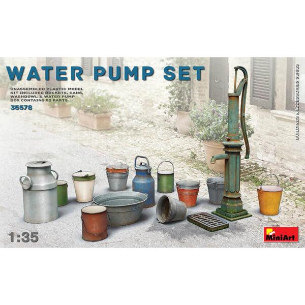 miniart 35578 Water Pump set Buildings & Accesories Series accesorios escala 1/35