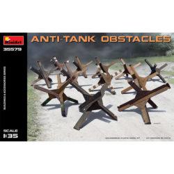 miniart 35579 Anti-tank Obstacles maqueta escala 1/35