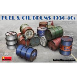 miniart 35613 Fuel & Oil Drums 1930-50s accesorios escala 1/35