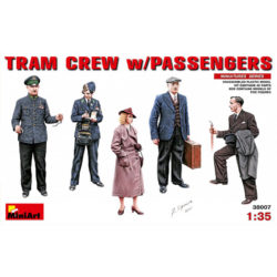 miniart 38007 Tram Crew with Passengers 1930-40 Figuras escala 1/35