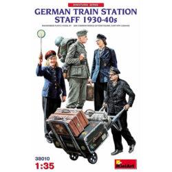 miniart 38010 German Train Station Staff 1930-40s Figuras escala 1/35
