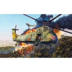 trumpeter 02881 Sikorsky H-34 Cocktaw US Marines maqueta escala 1/48