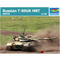 trumpeter 09578 Russian T-80UK MBT Maqueta a escala 1/35