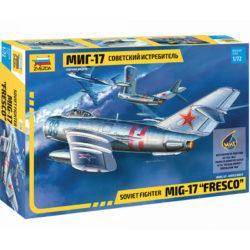 zvezda 7318 Soviet Fighter Mig-17 Fresco maqueta escala 1/72