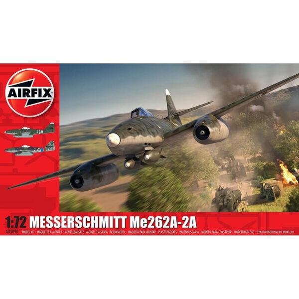airfix a03090 Messerschmitt Me262A-2A Sturmvogel maqueta escala 1/72