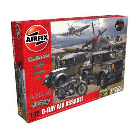airfix a50157 75th Anniversary D-Day Air Assault Set diorama escala 1/72