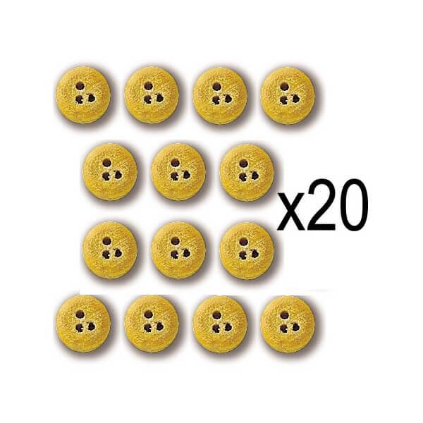 Constructo 80015 Vigota de Boj Ø 4mm Vigota en madera de boj. Blister : 20 Unidades.