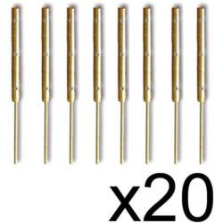 Constructo 80058 Candelero plano de 3 orificios 18mm (20uds) Puede ser usado también como cadenote de mesa de guarnición.