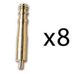 Constructo 80074 Boca Cañón 32X5 mm Falso tubo de cañón de latón con espiga de fijación.